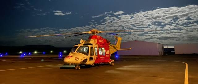 Westpac chopper airlifts critically ill infant to hospital