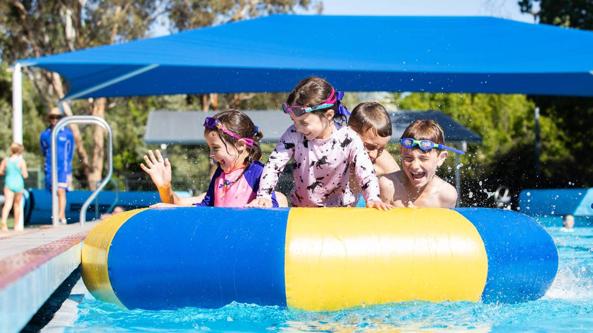 Pool party to celebrate end of the school year in Armidale