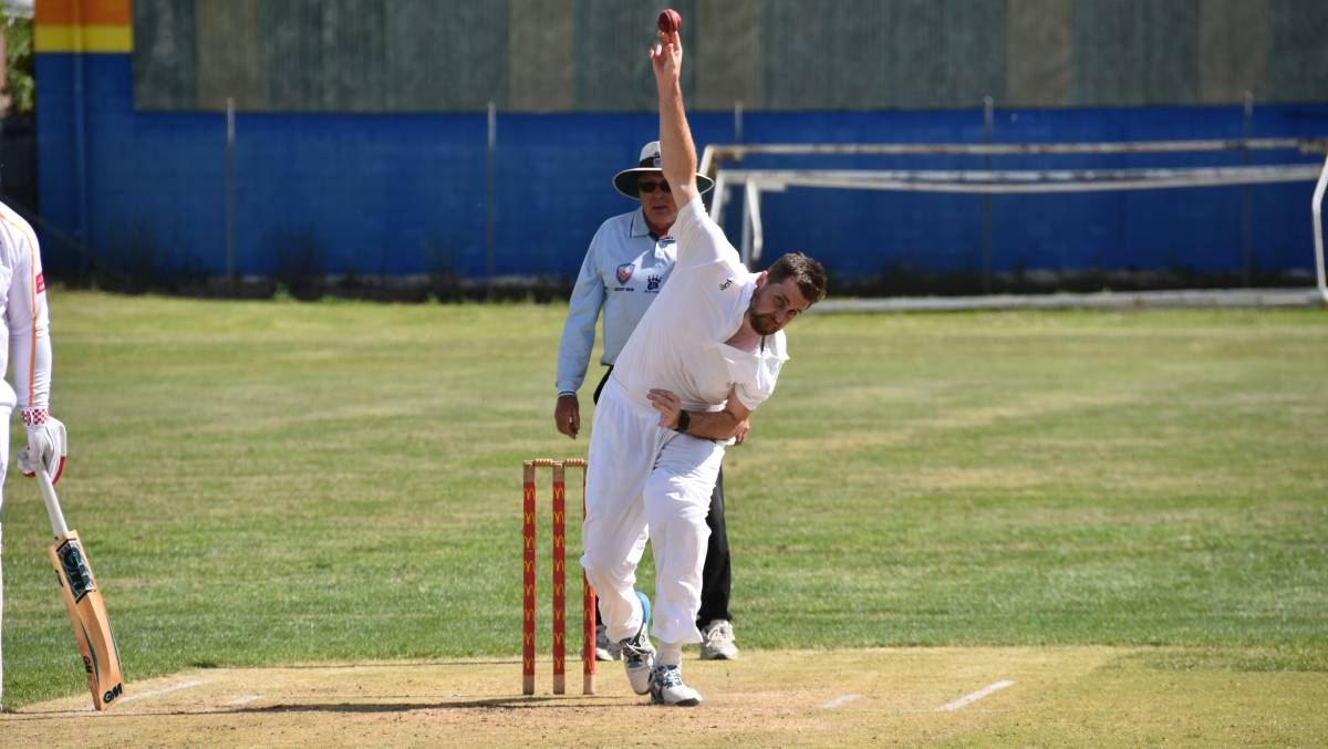 James Napper landed three wickets.