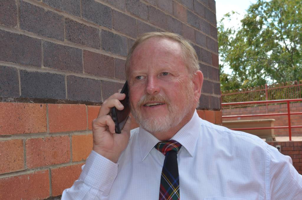 GOING AGAIN: Russell Stewart of Narrabri was delighted to get the news of his reappointed as Chair of Regional Development Australia Northern Inland. Photo courtesy of RDANI.