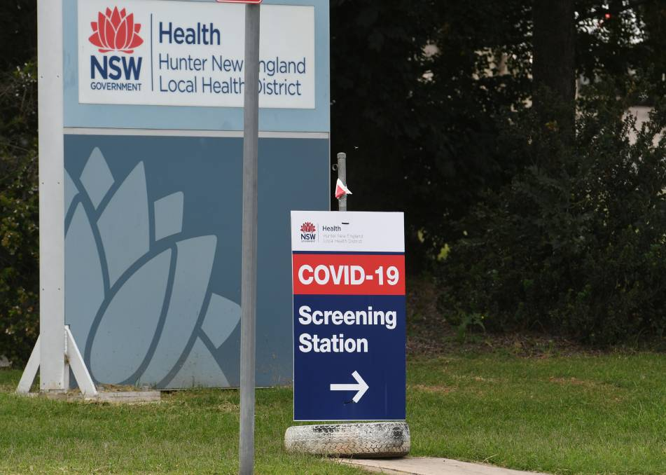 Book an appointment: COVID-19 testing clinics are available across the Northern Tablelands, including in Inverell. Photo by Gareth Gardner.