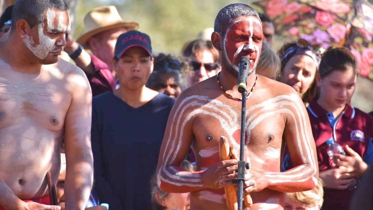 TRAGEDY: The 180th commemoration of the Myall Creek Massacre. Picture: Laini Kirkman.