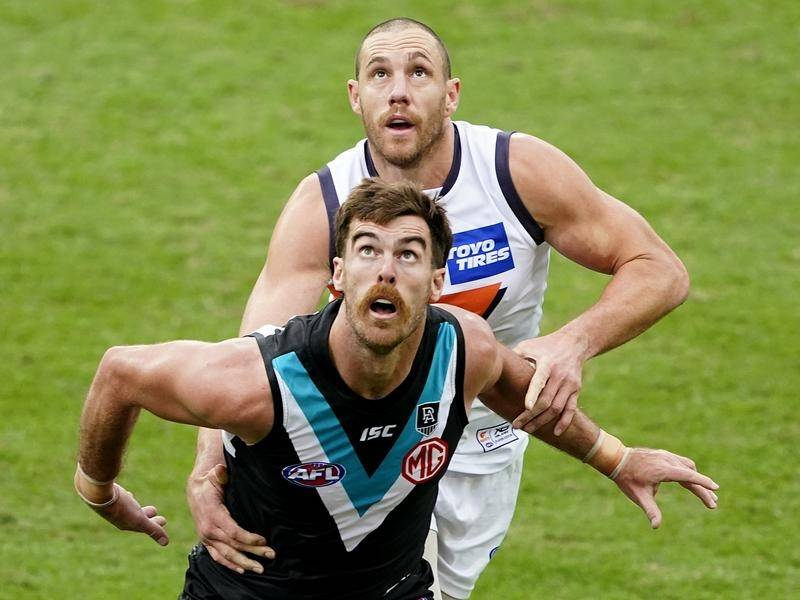 Port Adelaide have beaten GWS Giants by 17 points in the AFL.