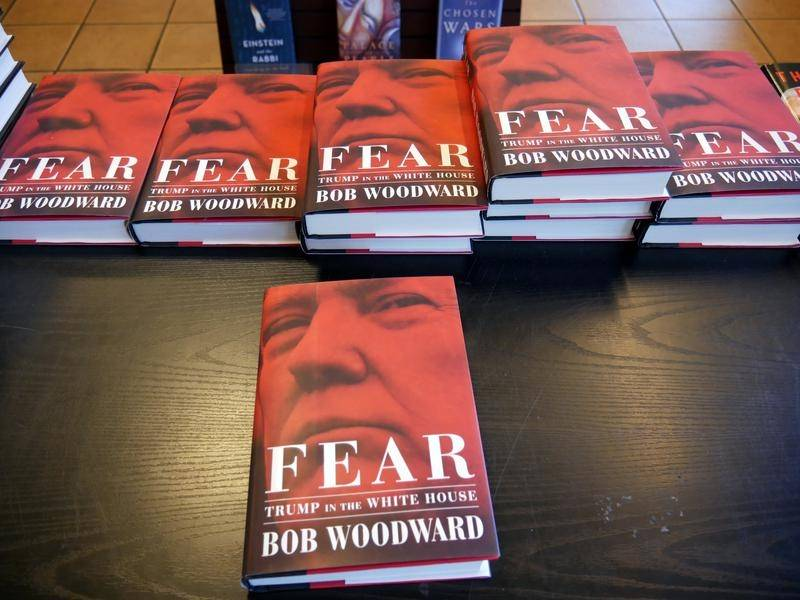 Amazon can't keep up with demand for Bob Woodward's new book on the Trump White House.